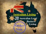 do 30 Australian listing for your local business