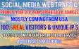 promote 11000 USA targeted visitors website,traffic