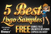 do 5 best logo samples with source files free