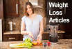 write you an article for you weight loss blog