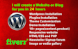 create a website and blog for you in 24 hours