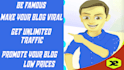 drive traffic to blog up to 10000 a day