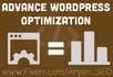 do Advance Optimization to Speed Up WordPress