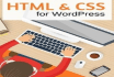 fixed your Html and Css issues in wordpress website