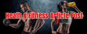 add Your Article and Link To High DA Fitness Health Website