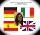 provide FEMALE voiceoverGerman Italian Spanish English