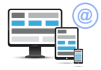 create an responsive html email template