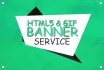 do html5 or gif or static banner ads