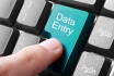 do your data entry and analysis