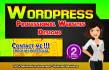 design Modify Fix WORDPRESS Websites