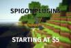 create a Spigot plugin for your Minecraft server