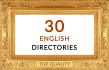 do manually 30 english directory submissions backlinks seo uk usa directories