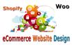 design ecommerce website, WordPress , SqureSpace , Shopify