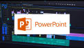 convert your POWERPOINT into video and add your voice over