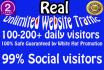 provide Unlimited Targeted Website Traffic