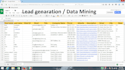do lead generation and data mining
