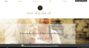 create a clean and simple splash page for your website