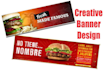 design creative, unique Banner