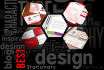 create BEST Business cards and Stationary