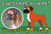 draw your Pet, on fun style