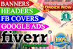create Professional Web BANNER Ads