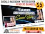 create web banner, header, Facebook cover