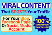 create VIRAL content for your blog or facebook