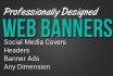 design your header graphic