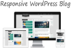 develop Responsive WordPress Blog