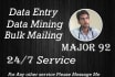 do Data Entry, Bulk Mailing and Internet Research