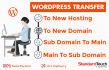shift Wordpress site in 24 hours