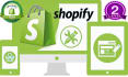 create, customize or add products on SHOPIFY