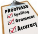 deligently proofread and edit your words professionally