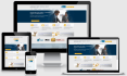 create professional HTML website
