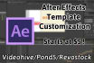 edit after effects template from videohive with any plugins