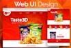 design a Creative Web User Interface