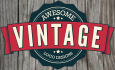 design Professional Vintage Logo For You