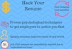 write, edit, or review your resume or cover letter