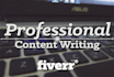 write 500 words article in less than 24 hours