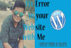 make your web site with Wordpress