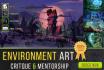 critique your environment art and provide mentorship