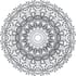 send you 5 mandala coloring pages