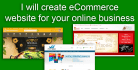 create eCommerce website for your online business