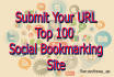 submit Your URL Top 100 Social Bookmarking Site