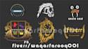 design 3D logo Mock up for you