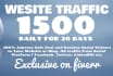 drive targeted USA social,visitors, Daily 1500,Plus