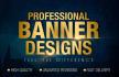design an Amazing Website header or Banner