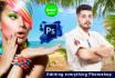 fast PHOTOSHOP editing,photo retouching