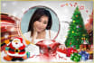 put your photo in 45 chritmas photo FRAMES