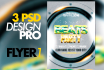instant download 3 Flyers PRO Design